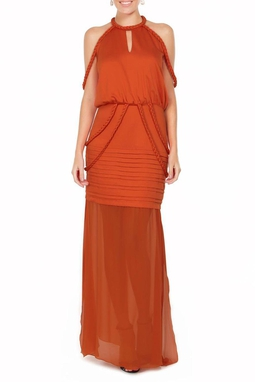 Vestido Ayra Orange