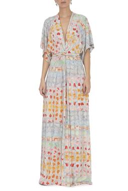 Vestido Balin Cinza