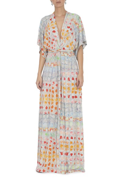 Vestido Balin Cinza Kika Simonsen