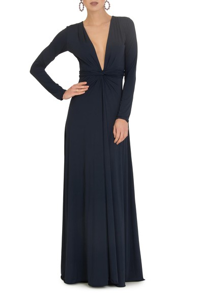 Vestido Breeze Dark Blue Anamaria Couture