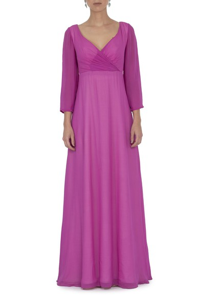 Vestido Buono Fucsia Basic Collection