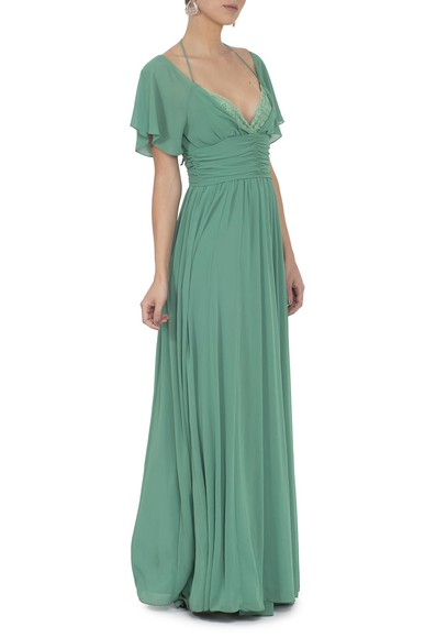 Vestido Byers Green Basic Collection
