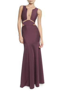 Vestido Cacau Purpura