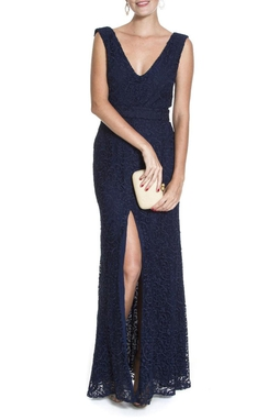 Vestido Camélia Azul