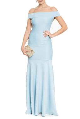 Vestido Cariri Light Blue