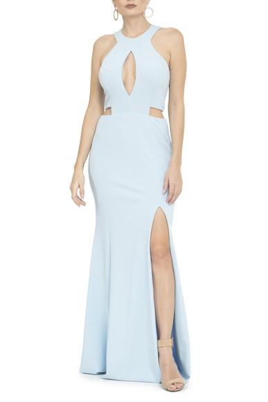 Vestido Casterly Light Blue Basic Collection