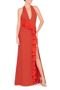 Vestido Cecilia Orange