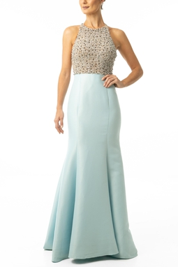 Vestido Cestari Light Blue