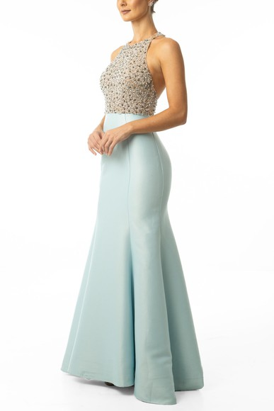 Vestido Cestari Light Blue Essential Collection
