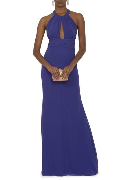 Vestido Civita Blue Marcelo Quadros