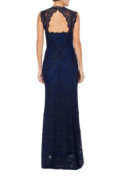 Vestido Cloe Blue Nicole Miller