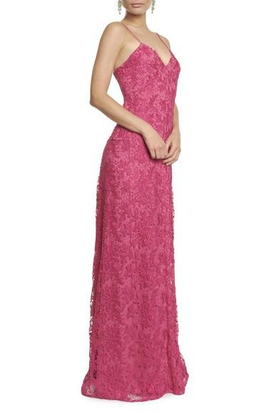 Vestido Cristal Seven Pink Reinaldo Lourenço