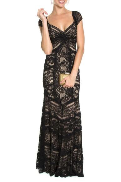 Vestido Dark Lace Nicole Miller