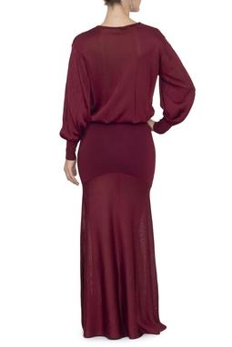 Vestido Eufe Marsala