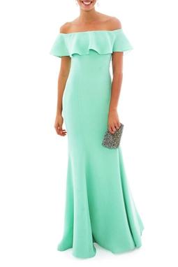 Vestido Florbela Green