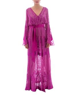 Vestido Galena Rosa
