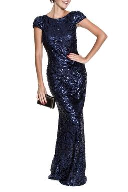 Vestido Gisele Blue