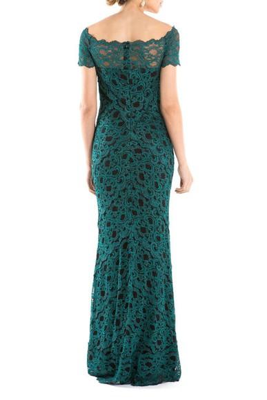 Vestido Green Lace Nicole Miller