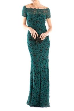 Vestido Green Lace