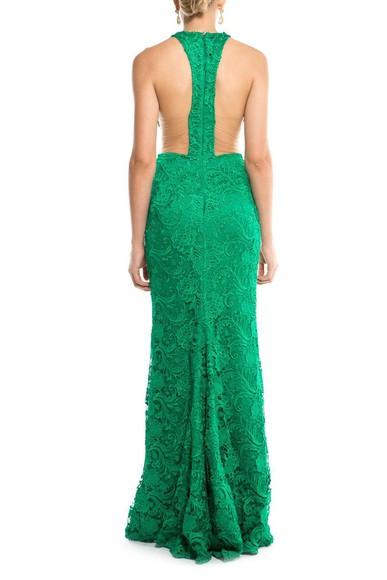 Vestido Green Rendado Tufi Duek