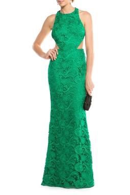 Vestido Green Rendado