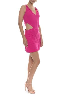 Vestido Herta Pink Curto