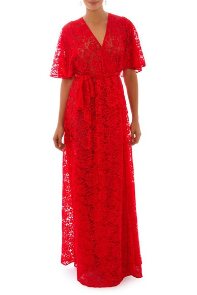 Vestido Iansa Vermelho Helo Rocha
