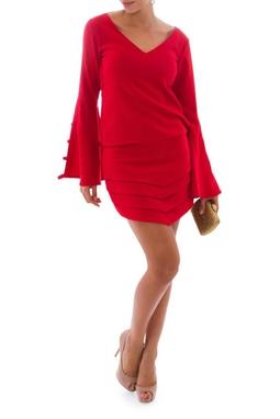Vestido Jade Red