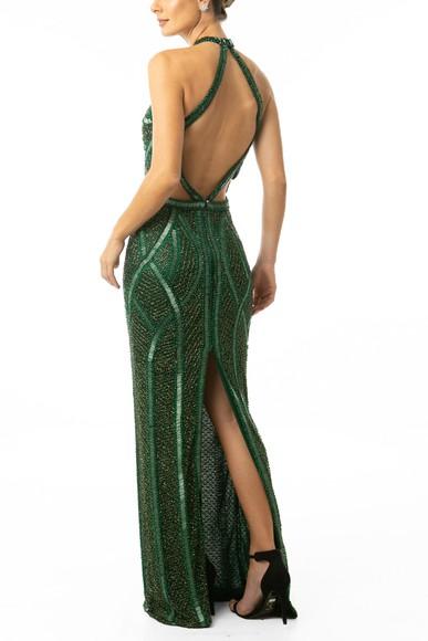 Vestido Jamile Green Prime Collection