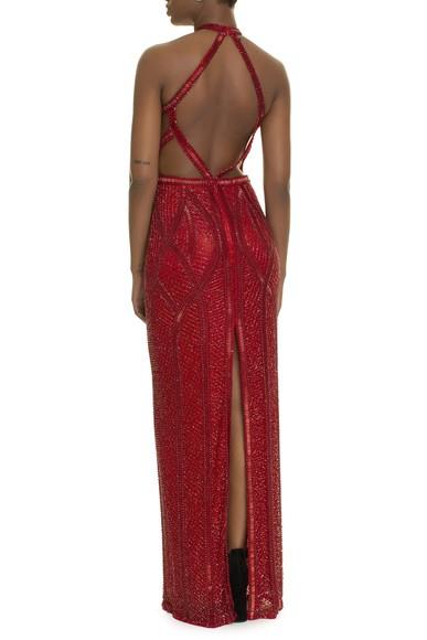 Vestido Jamile Red Prime Collection