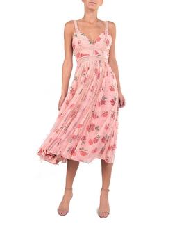 Vestido Jardim Rose