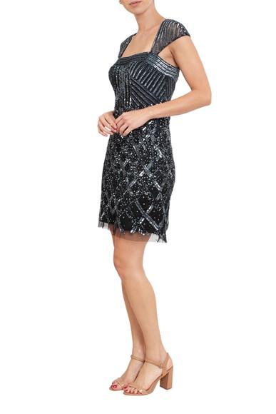 Vestido Kourt Black Adrianna Papell