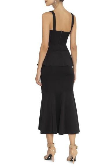 Vestido Lafaiete Midi Black Jodri