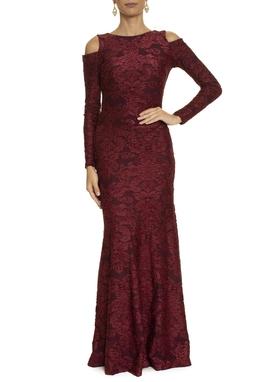 Vestido Lagri Marsala