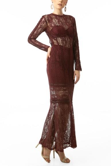 Vestido Lee Marsala Iorane
