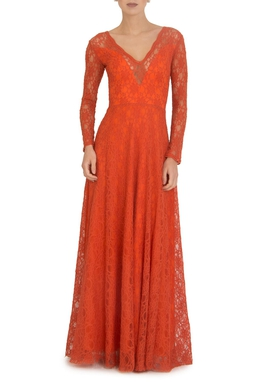 Vestido Leona Orange