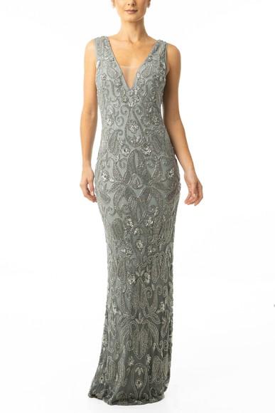 Vestido Nayana Silver Prime Collection