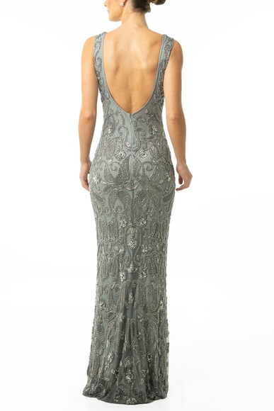 Vestido Nayana Silver Prime Collection