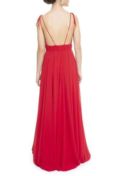 Vestido Lira Red Simone Korody