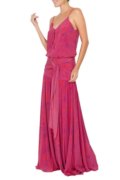 Vestido Madureira Pink Ateen