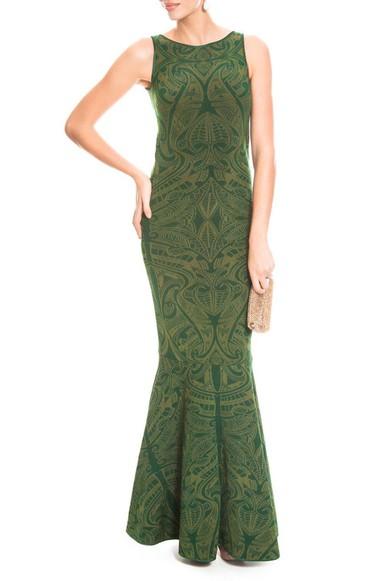 Vestido Marcia Green Cecília Prado