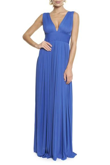 Vestido Marieta blue Anamaria Couture
