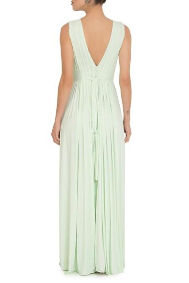 Vestido Marieta Light Green Anamaria Couture