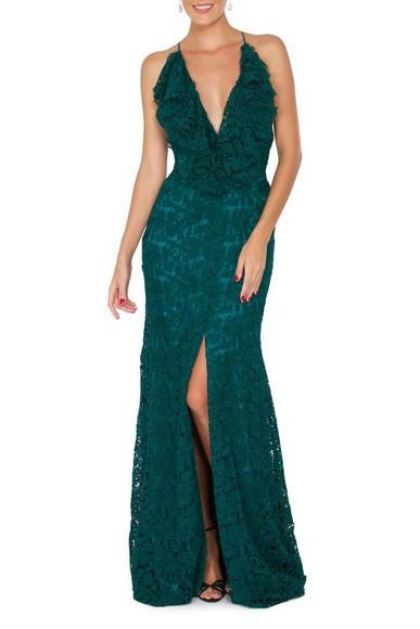 Vestido Marmixa Green Marcelo Quadros