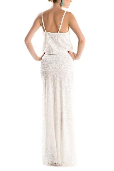 Vestido Michely Branco Iodice