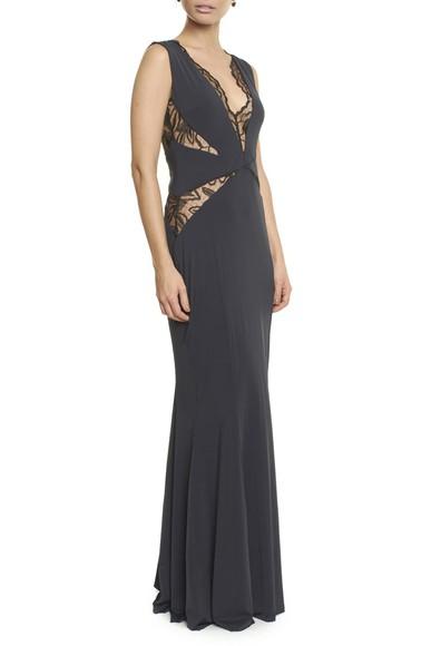 Vestido Morag Black Anamaria Couture