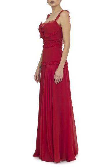 Vestido Myrcella Red Kika Simonsen
