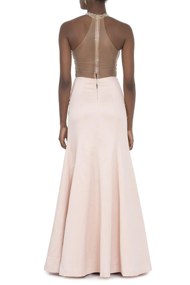 Vestido Noir Light Pink Patricia Bonaldi
