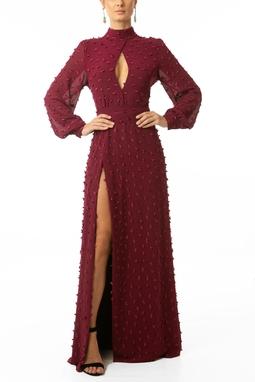 Vestido Nune Marsala
