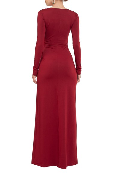 Vestido Odete Marsala Jodri